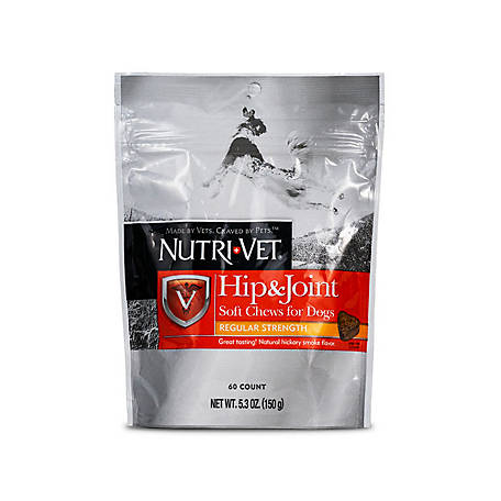 Nutri-Vet Hip & Joint Regular Strength Soft Chews, 5.3 oz.