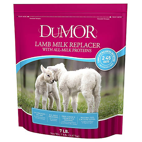 DuMOR Blue Ribbon Lamb Milk Replacer