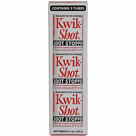 Rutland Kwik-Shot Soot Stopper, 3 oz. Canister, Pack of 3, 100G
