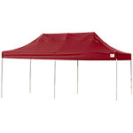 ShelterLogic Triple Truss Top Pop Up Canopy, Red, 10 ft. W x 20 ft. L x 11-1/5 ft. H