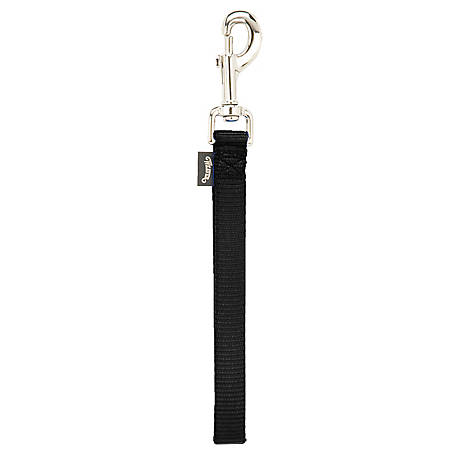 Weaver Leather Goat Lead with 8 in. Loop, 10 in. Overall Length, Black