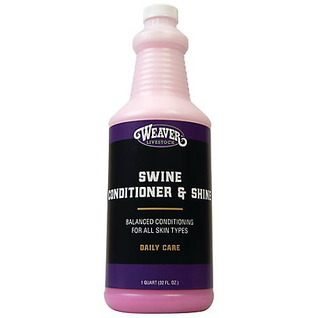 Weaver Leather Swine Conditioner and Shine, 1 qt.
