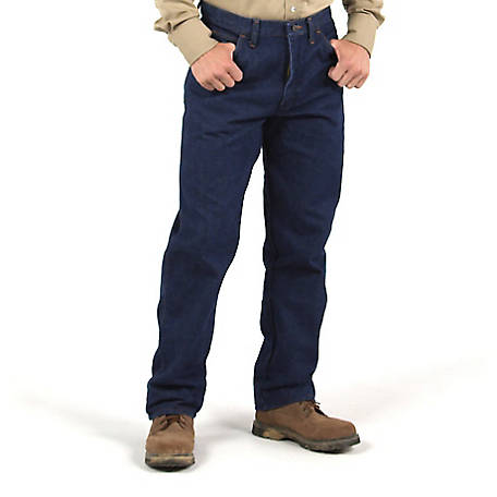 Wrangler Men's FR Flame Resistant Relaxed Fit Jean