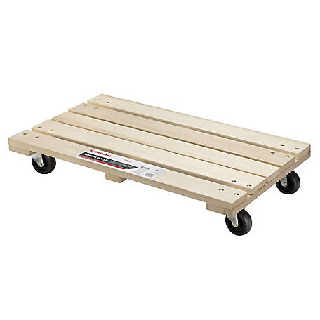 JobSmart Solid Wood Dolly, MD12-75P