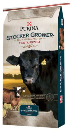 Shop Purina Stocker Grower Textured Cattle Feed at Tractor Supply Co.