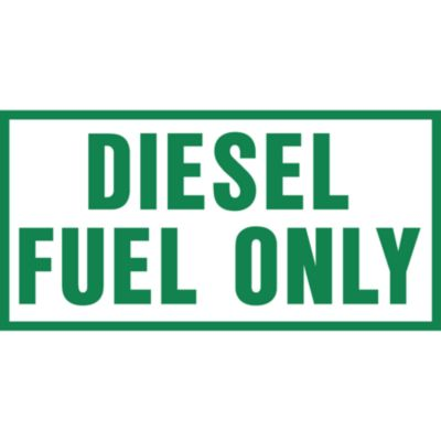 Buy Hazmat Diesel Fuel Only Sticker Decal Online