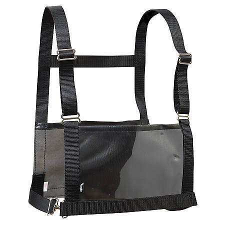 Weaver Leather Exhibitor Number Harness, Black, Small/Medium, Youth/Ladies
