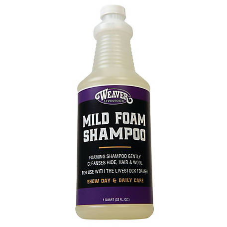 Weaver Leather Mild Foam Shampoo, 1 qt.