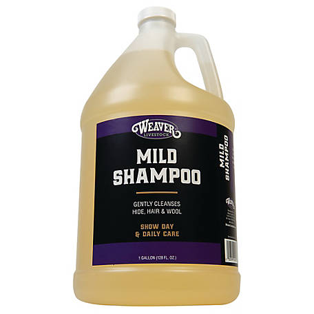 Weaver Leather Mild Shampoo, 1 gal.
