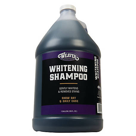 Weaver Leather Whitening Shampoo, 1 gal.