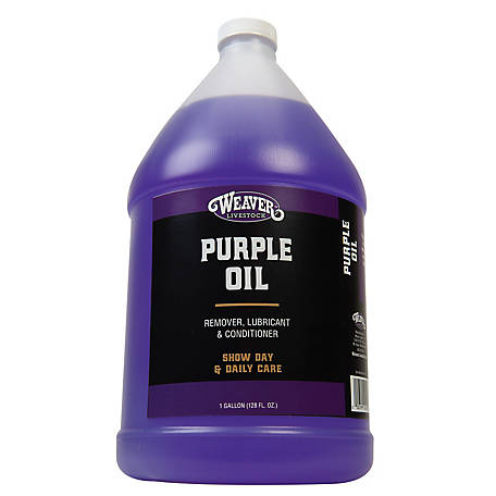 Weaver Leather Purple Oil, 1 gal.