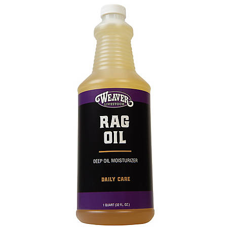 Weaver Leather Rag Oil, 1 qt.