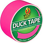 Duck Tape, Neon Pink, 1.88 in. x 15 yd.