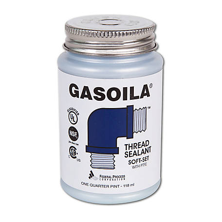 Gasoila Thread Sealant Soft Set, 1/4 pt.