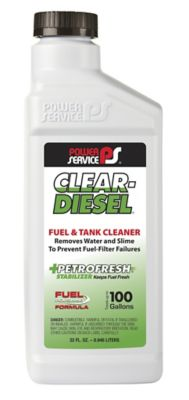 Buy Power Service Clear Diesel Fuel and Tank Cleaner; 32 oz. Online