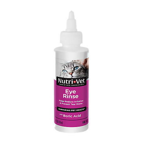 Nutri-Vet Eye Rinse for Cats, 4 oz., 1001008