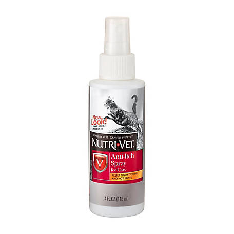 Nutri-Vet Anti-Itch Spray for Cats, 4 oz., 1001004