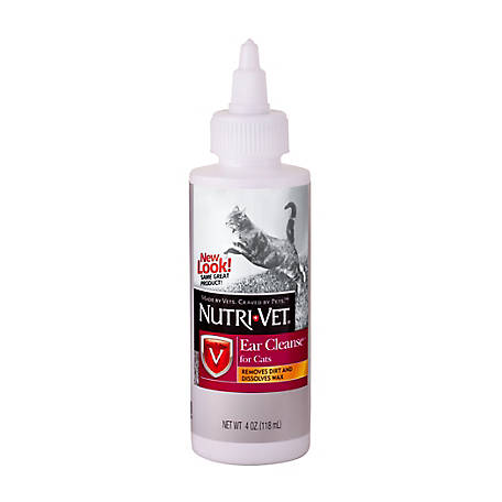 Nutri-Vet Ear Cleanse for Cats, 4 oz.