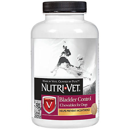 Nutri-Vet Bladder Control Chewables for Dogs, 90 Count, 1001035