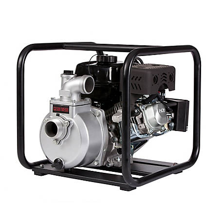 Red Lion Aluminum Water Transfer Pump with Roll Frame, 179cc, 617033