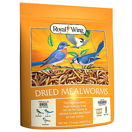 Royal Wing Mealworms, 17.6 oz.