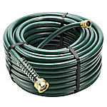 GroundWork 100 ft. x 5/8 in. Garden Hose, Green, XHJ-10058M
