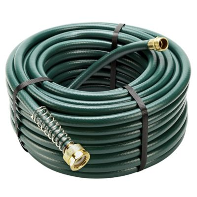 GroundWork 100 ft X 58 in Garden hose Green For Life Out Here