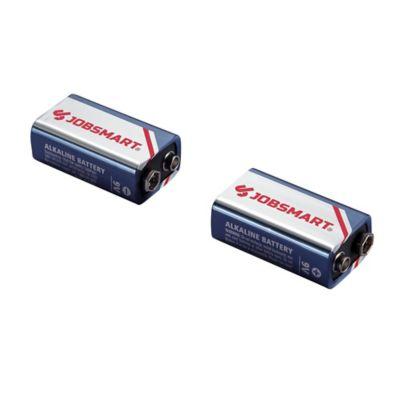 Buy JobSmart 9 Volt Alkaline Battery; Pack of 2 Online