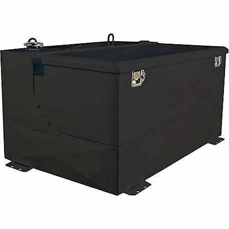Better Built 75 gal. Combo Transfer Tank, Black Steel