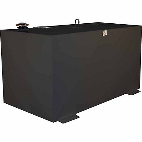 Better Built 100 gal. Rectangle Transfer Tank, Black Steel