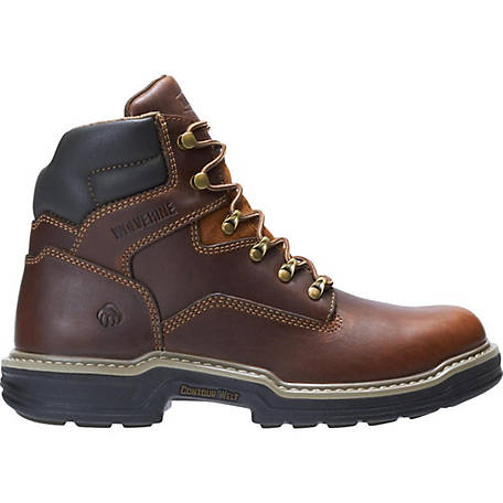 5aacf7e34f3 Wolverine Men's Raider 6 in. Steel Toe Work Leather Boot at Tractor ...