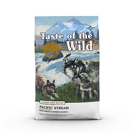 Taste of the Wild Pacific Stream Puppy Formula with Smoked Salmon, 5 lb. Bag