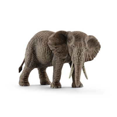 Schleich Wild Life Collection African Elephant Bull Figurine