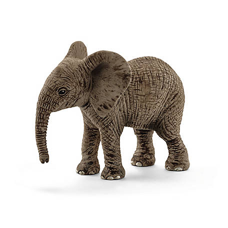 Schleich Wild Life Collection African Elephant Calf Figurine