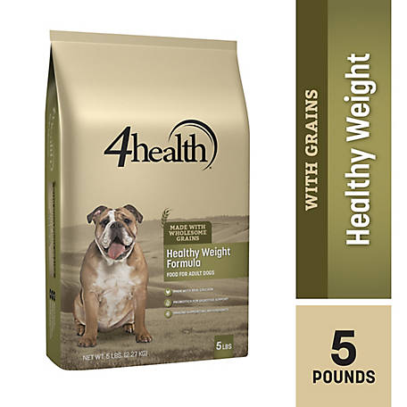 4health Original Healthy Weight Formula Adult Dog Food, 5 lb. Bag