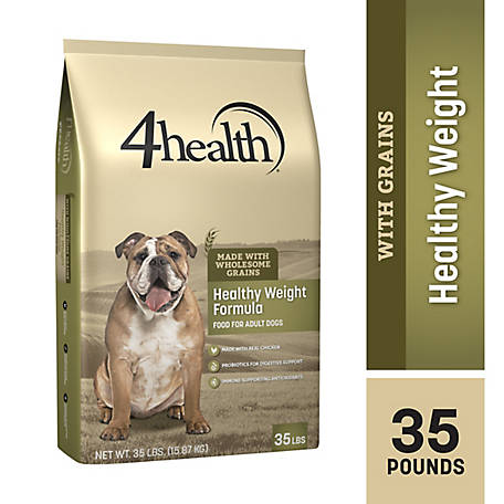 4health Healthy Weight Formula Adult Dog Food 35 Lb Bag At Tractor