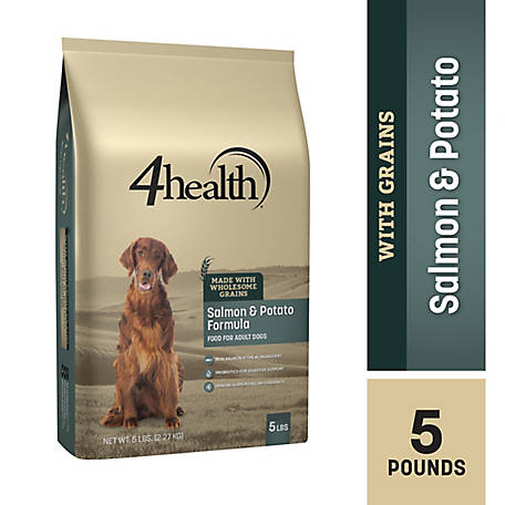 4health Original Salmon & Potato Formula Adult Dog Food, 5 lb. Bag