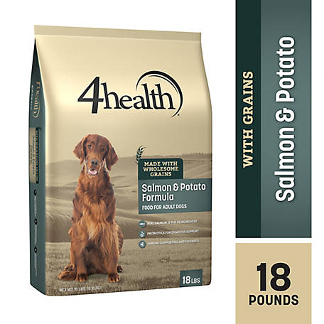4health Original Salmon & Potato Formula Adult Dog Food, 18 lb. Bag