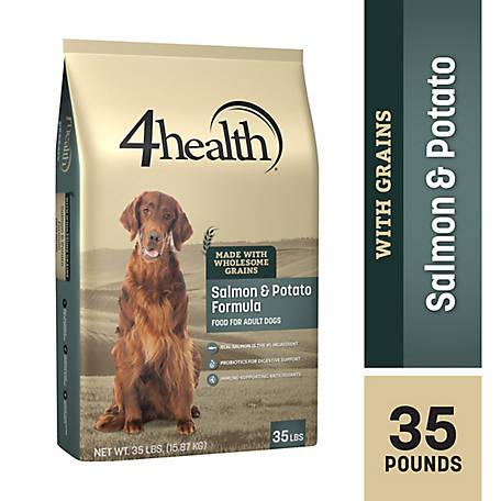 4health Salmon Potato Formula Adult Dog Food 35 Lb Bag At