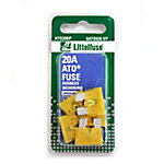 Littelfuse ATO 20A Blade Fuse, Pack of 5