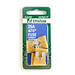 Littelfuse ATO 25A Blade Fuse, Pack of 5