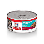 Hill's Science Diet Adult Tender Tuna Dinner Cat Food, 5.5 oz. Can
