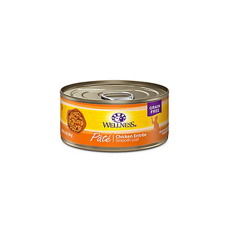 Wellness Complete Health Natural Grain-Free Chicken Pate Wet Cat Food, 5.5 oz.