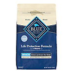 Blue Buffalo Life Protection Formula Senior Chicken & Brown Rice Recipe Dry Dog Food, 30 lb.