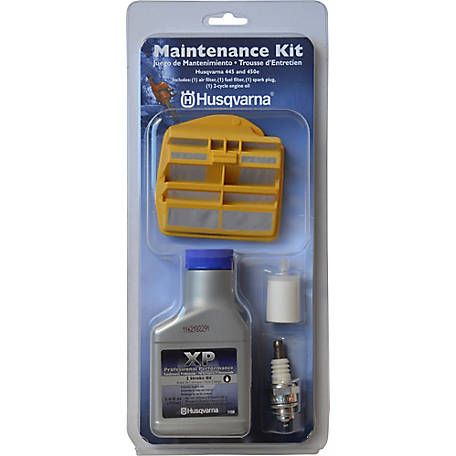 Husqvarna Chainsaw Maintenance Kit for 445E and 450E Rancher models, 531309681