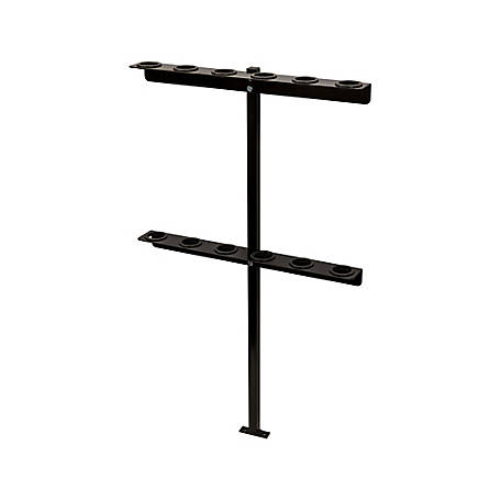 Buyers Products Vertical Hand Tool Rack for Open Landscape Trailers