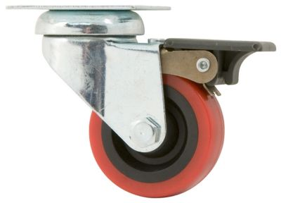 Buy Titan Casters 2 in. Polyurethane Caster; Swivel with Brake Online