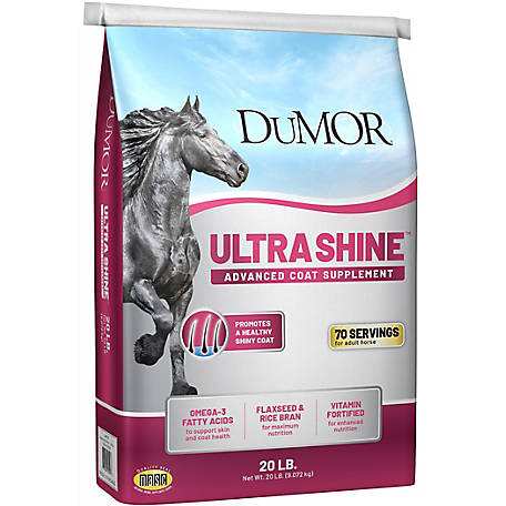 DuMOR Ultra Shine: Skin and Coat Supplement for Horses, 20 lb., 35055