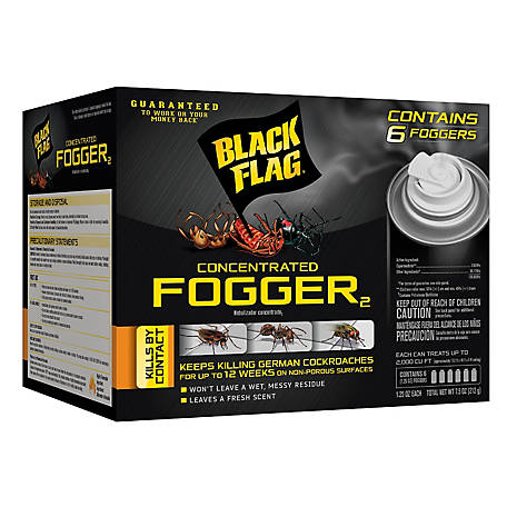 Black Flag Concentrated Fogger, 6/1.25 oz., HG-11037