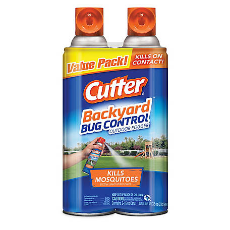Cutter Backyard Bug Control Outdoor Fogger, 2/16 oz, HG-65704